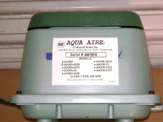 Aqua-Aire AA-600 Diaphragm Diaphram Repair Rebuild Kit DIY!